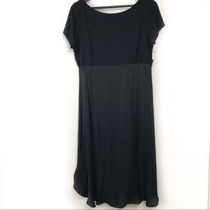 LOFT Black Maternity Dress NWT